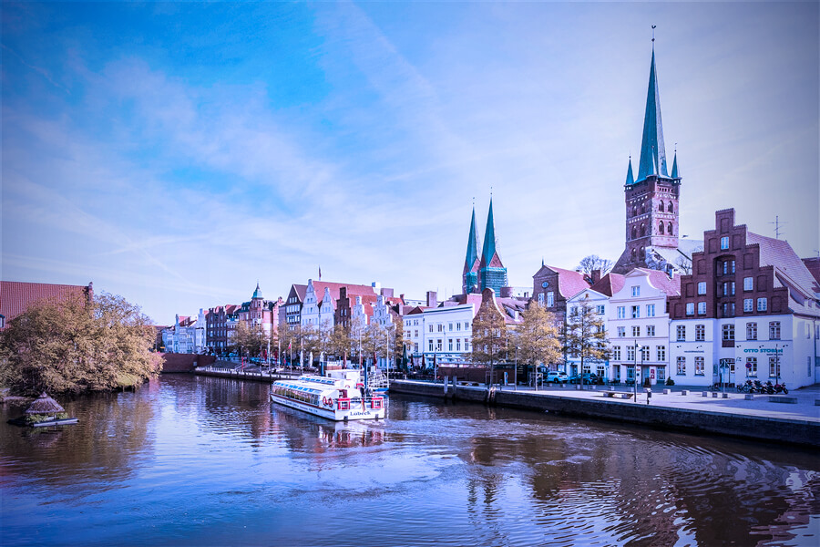 Lübeck vom Wasser